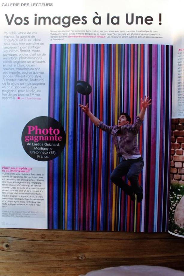 1 er prix phototech en 2014