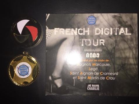 2 médailles d'or au 9ème French Digital Tour : médaille Federation Photographie de France et médaille d'or French Digital tour