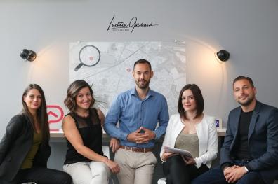 L'équipe de l'agence Stéphane Plaza