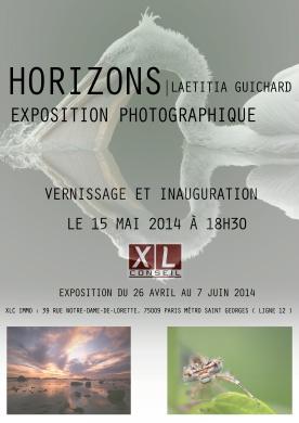 Exposition à Paris 1 mois