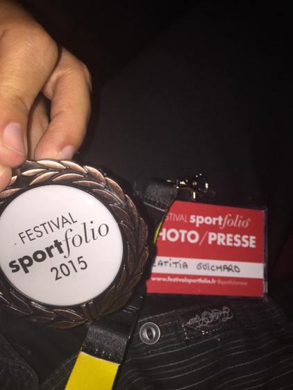 Medaille bronze Sportfolio 2015